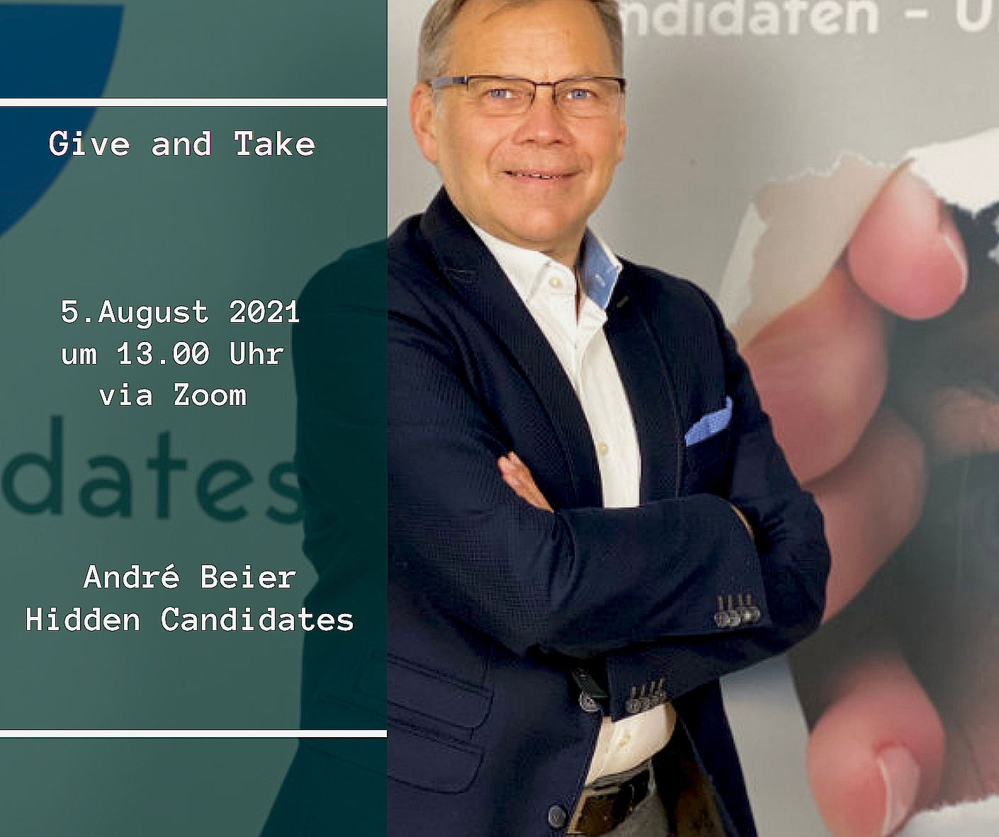 Andre-Beier-Kopie Give and Take   5.8.2021   André Beier, Hidden Candidates