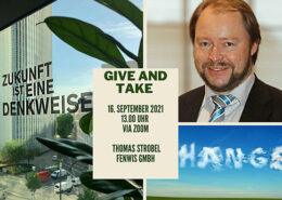 Give-and-Take_-Thomas-Strobel-260x185 Give and Take | 26.8.2021 | Andreas Koch, blueContec GmbH